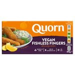 Quorn Vegan Fishless Fingers 10 Pack