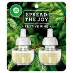 Air Wick Spread The Joy Scented Oil Refill Twin Festive Pine