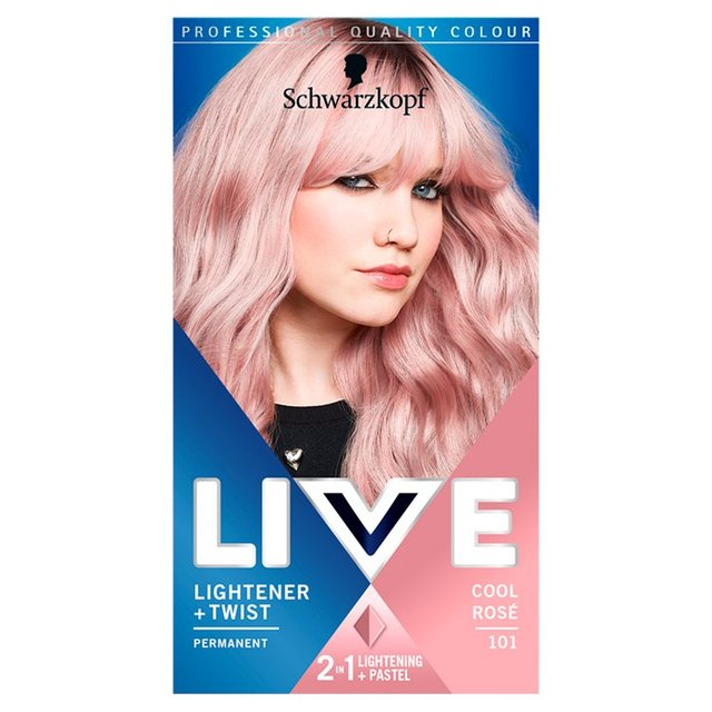 Morrisons: Schwarzkopf Live Lightener + Twist Permanent Color 101 ...