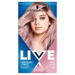 Schwarzkopf Live Lightener + Twist Permanent Color 104 Cool Lilac