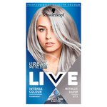 Schwarzkopf Live Lightener + Twist Permanent Color U71 Metallic Silver