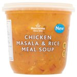 Morrisons Chicken Masala & Rice Soup