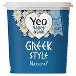 Yeo Valley Natural Greek Style Yogurt