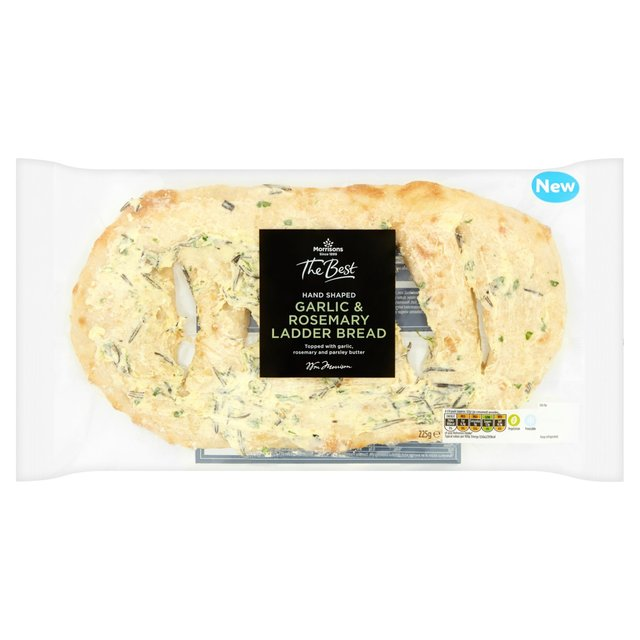 Morrisons The Best Garlic & Rosemary Ladder Bread