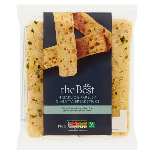 Morrisons The Best Ciabatta Bread Sticks