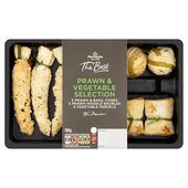 Morrisons The Best 9 Prawn and Vegetable Selection