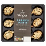Morrisons The Best 9 Prawn Toasts