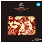 Morrisons The Best Spicy Milano Salami & 'Nduja Pizza