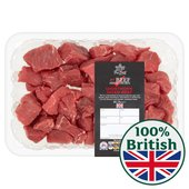 Morrisons The Best British Shorthorn Diced Beef