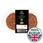 Morrisons The Best 2 British Lamb & Mint Burgers