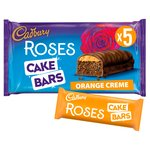 Cadbury Roses Orange Cake Bars