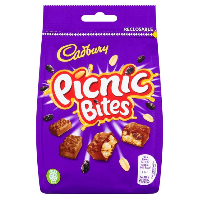 Cadbury Picnic Bites Chocolate Bag