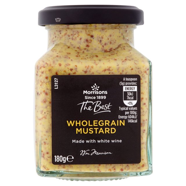 Morrisons The Best Whole Grain Mustard