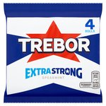 Trebor Extra Strong Mints Spearmint Roll 4 Pack