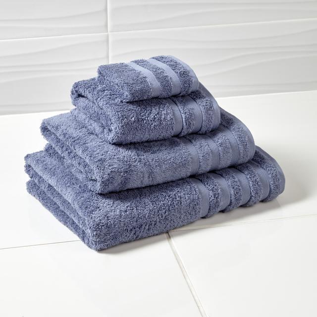 Morrisons Denim Blue Face Cloth
