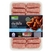 Morrisons The Best Pork Cocktail Sausages