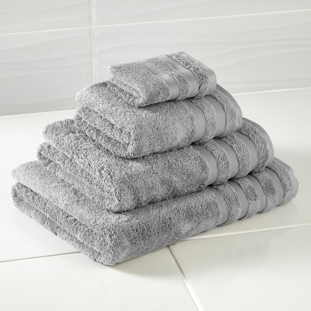 Egyptian Cotton Silver Grey Towel