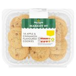Morrisons Apple & Cinnamon Mini Cookies 18Pk