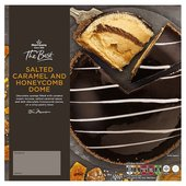 Morrisons The Best Honeycomb & Salted Caramel Dome Gateau