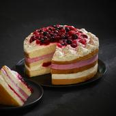 Morrisons The Best Hand Finished Winter Berry Gateau