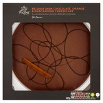 Morrisons The Best Belgian Dark Chocolate, Orange & Mascapone Cheesecake