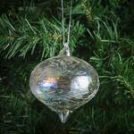 Morrisons Clear Glass Baubles