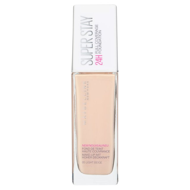 Maybelline Superstay 24H Full Coverage Foundation 05 Light Beige 30ML