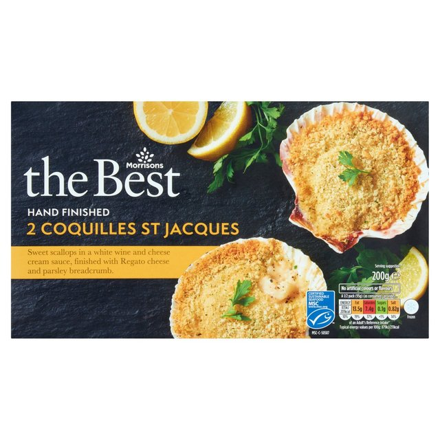 Morrisons The Best Coquille St Jacque