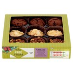 Morrisons Free From Mini Cake Selection