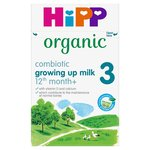 Hipp Organic Combiotic 3 Growing Up Milk Formula