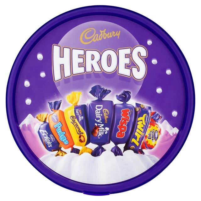 Morrisons Cadbury Heroes Chocolate Tub Product Information