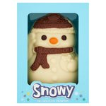 Morrisons White Chocolate Snowman