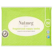 Nutmeg Nappy Sacks 150PK