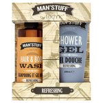 Technic Man'stuff Shower Gel & Hair & Body Wash Duo Gift Set