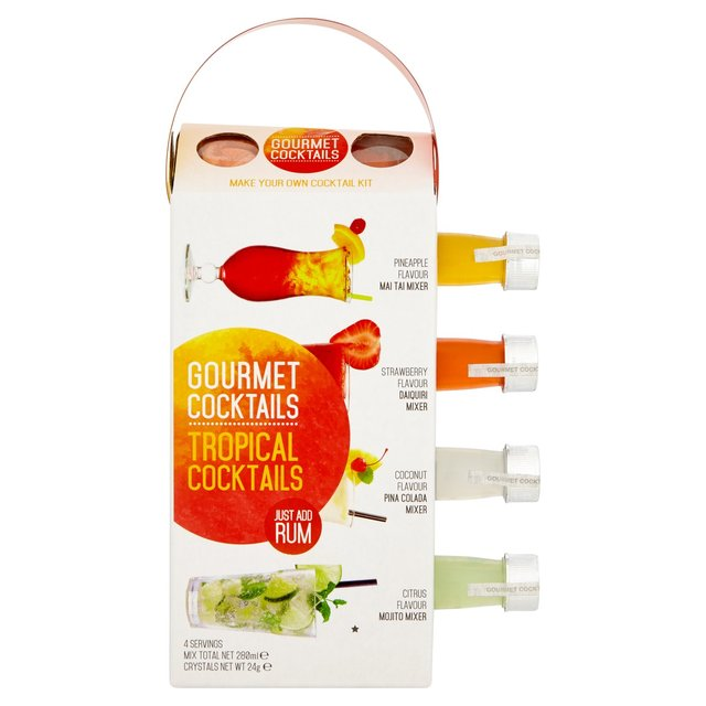 Gourmet Cocktail Tropical 280ML Gift Set