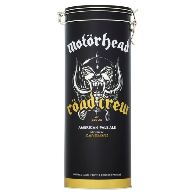 Motorhead Road Crew Beer & Glass Gift Tin