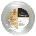 Plastico Easy Style Small Clear 340Ml Bowls