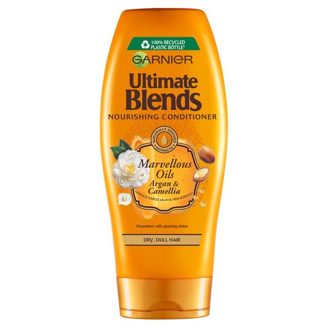 Garnier Ultimate Blends Argan Oil Shiny Hair Conditioner