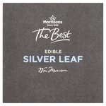Morrisons The Best Edible Silver Leaf 2 Sheets