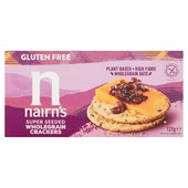 Nairn's Gluten Free Seeded Crackers