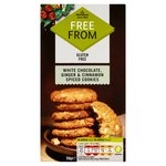 Morrisons Free From Cookies White Chocolate, Ginger & Cinnamon