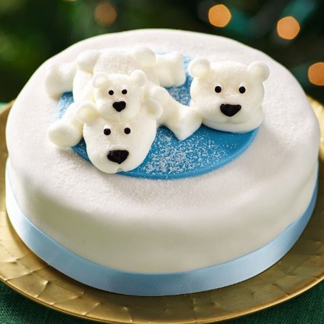 Morrisons Free From Polar Bear Christmas Cake