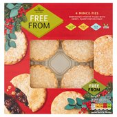 Morrisons Free From Mince Pies 4 Pack