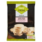 Morrisons Free From Yoghurt Mini Rice Cakes