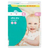 Nutmeg Nappies Ultra Dry Size4