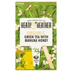 Heath & Heather Organic Green Tea with Manuka 20s
