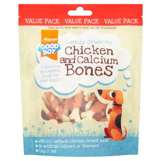 Good Boy Chicken & Calcium Bones Dog Treats