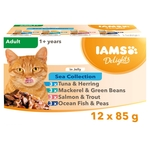 Iams Delight Sea Collection in Jelly