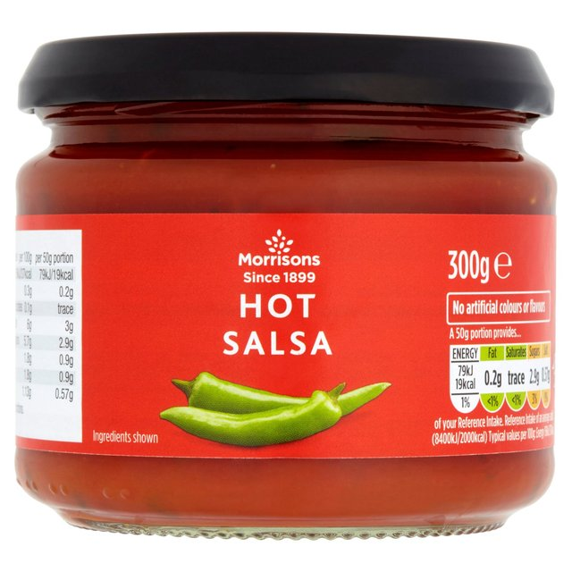 Morrisons Hot Salsa