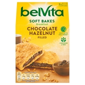 BelVita Breakfast Biscuits Soft Bakes Chocolate Filled 5 Pack